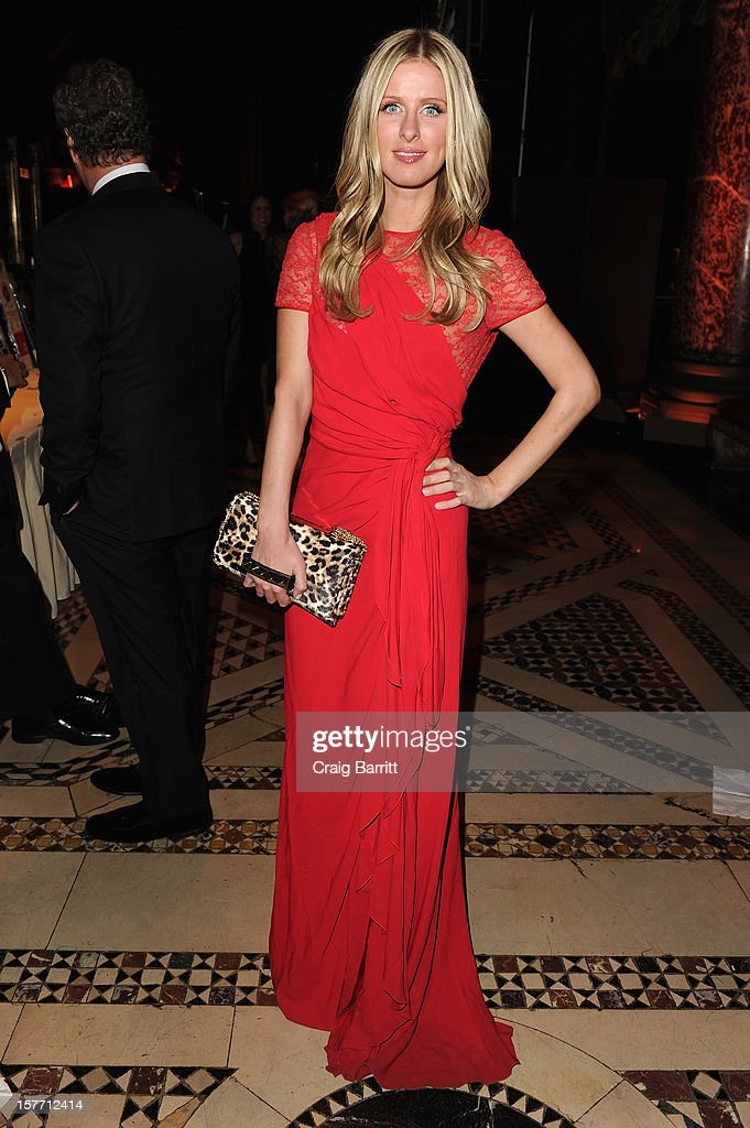 Nicky Hilton attends European School Of Economics Foundation Vision And Reality Awards on December 5, 2012 in New York City.
