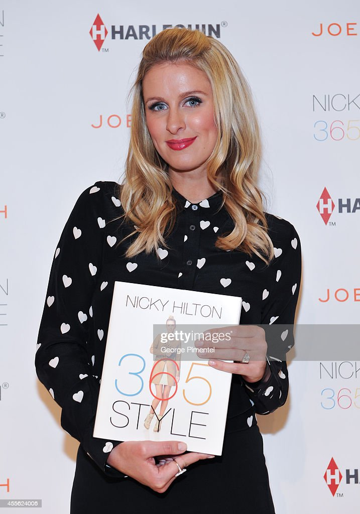 Nicky Hilton attends her 365 STYLE launch event with Joe Fresh at Loblaws Maple Leaf Gardens on September 17 2014 in Toronto Canada