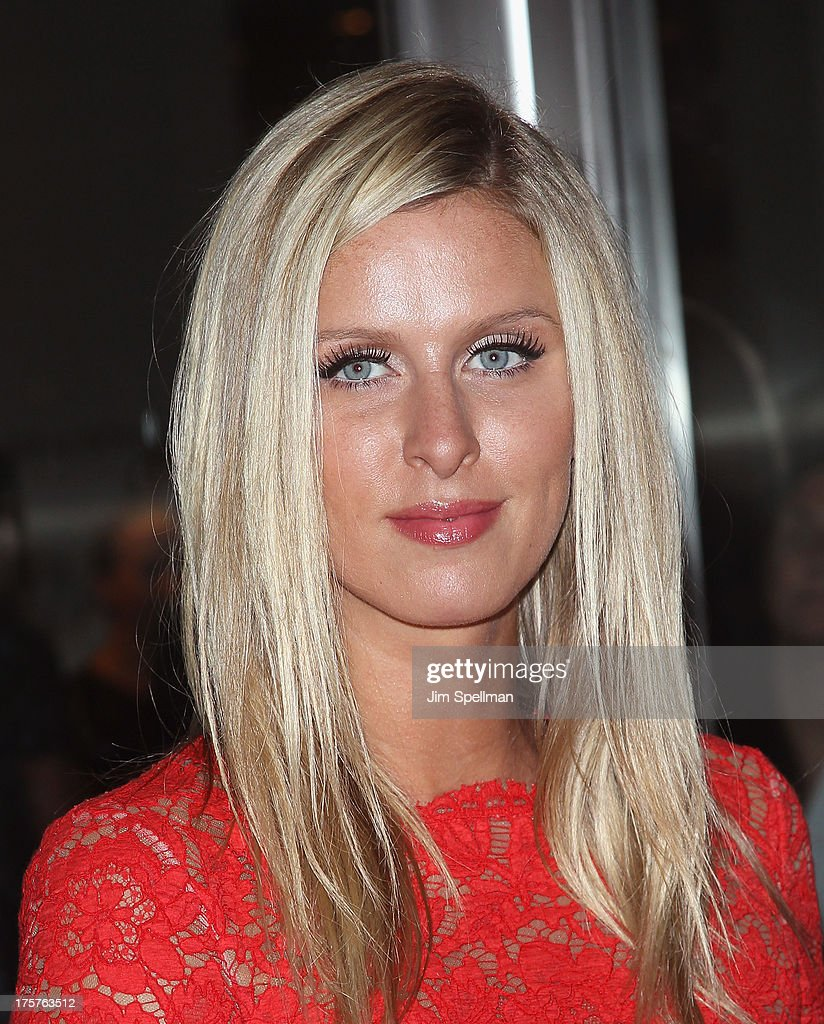 Nicky Hilton attends 'Jobs' New York Premiere at MOMA on August 7, 2013 in New York City.