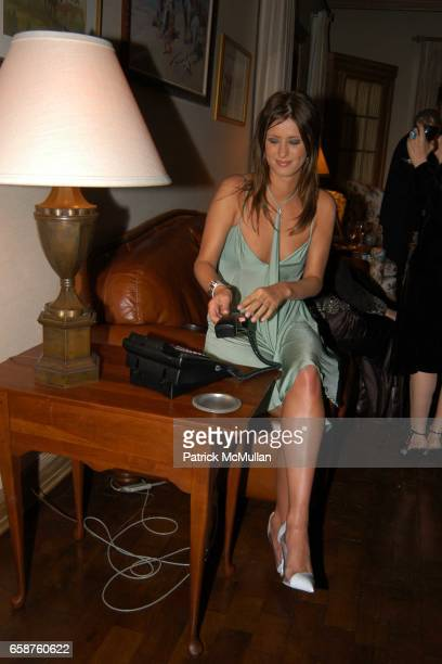 Nicky Hilton attends Kathy and Rick Hilton's party for Donald Trump and 'The Apprentice' at the Hiltons' Home on February 28 2004 in Holmby Hills...