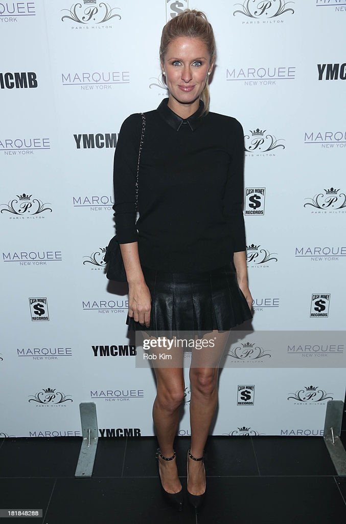 Nicky Hilton attends Paris Hilton's 'Good Time' Single Release Party at Marquee on September 25 2013 in New York City