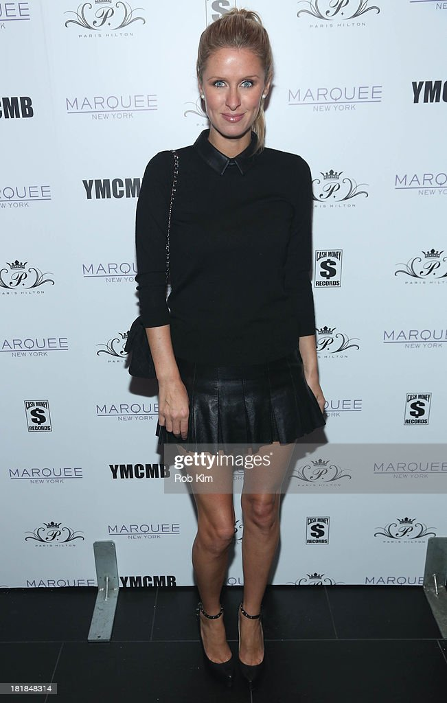 Nicky Hilton attends <a gi-track='captionPersonalityLinkClicked' href=/galleries/search?phrase=Paris+Hilton&family=editorial&specificpeople=171761 ng-click='$event.stopPropagation()'>Paris Hilton</a>'s 'Good Time' Single Release Party at Marquee on September 25, 2013 in New York City.