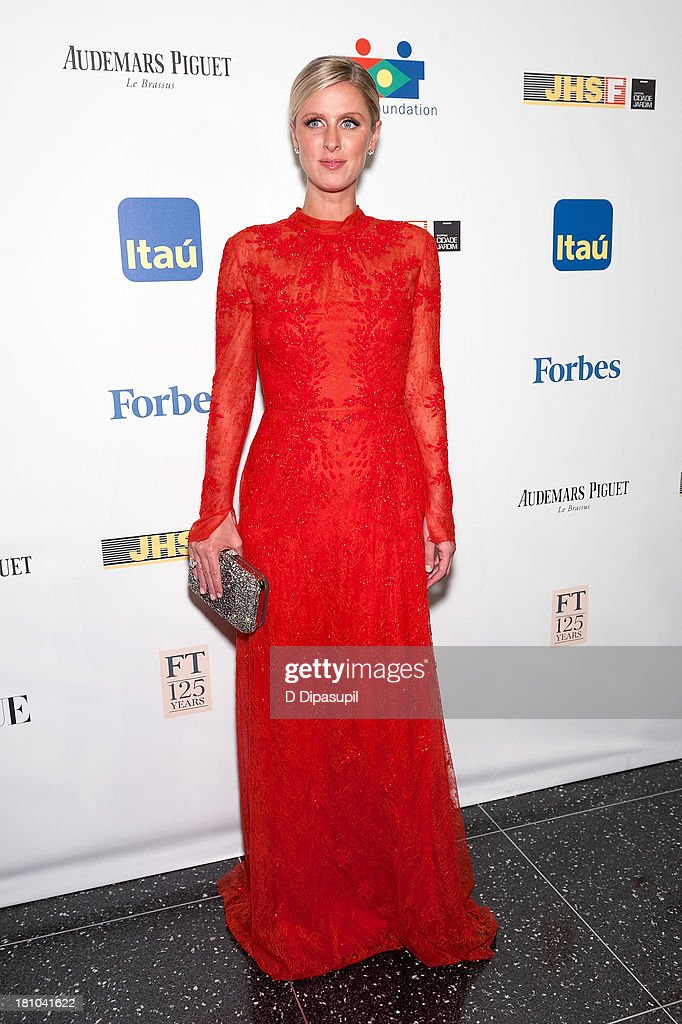<a gi-track='captionPersonalityLinkClicked' href=/galleries/search?phrase=Nicky+Hilton+-+Born+1983&family=editorial&specificpeople=11520989 ng-click='$event.stopPropagation()'>Nicky Hilton</a> attends the 11th Brazil Foundation NYC gala at The Museum of Modern Art on September 18, 2013 in New York City.