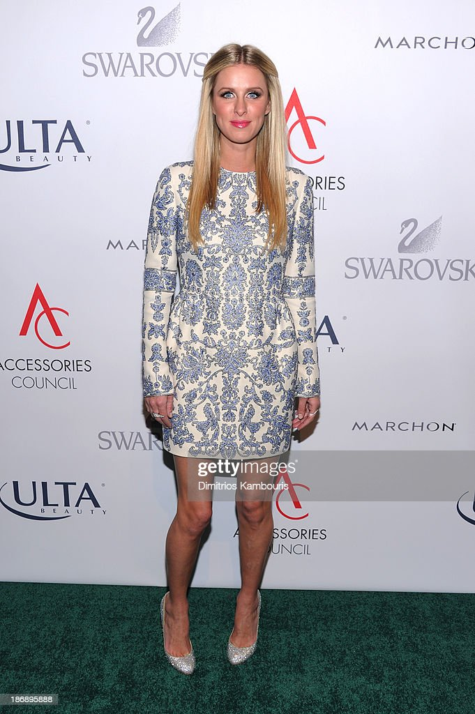 Nicky Hilton attends the 17th Annual Accessories Council ACE Awards At Cipriani 42nd Street on November 4, 2013 in New York City.