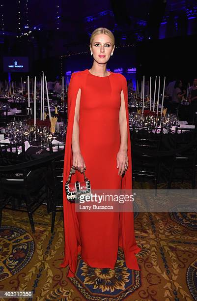 Nicky Hilton attends the 2015 amfAR New York Gala at Cipriani Wall Street on February 11 2015 in New York City