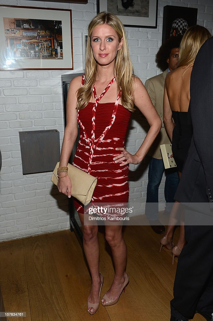 Nicky Hilton attends the Aby Rosen & Samantha Boardman dinner at The Dutch on December 6, 2012 in Miami, Florida.