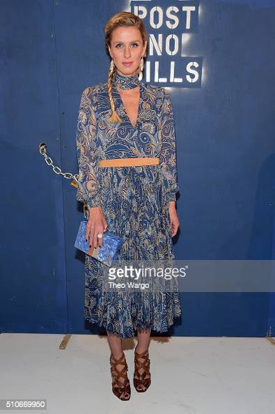 Nicky Hilton attends the Alice Olivia By Stacey Bendet Arrivals at The Gallery Skylight at Clarkson Sq on February 16 2016 in New York City