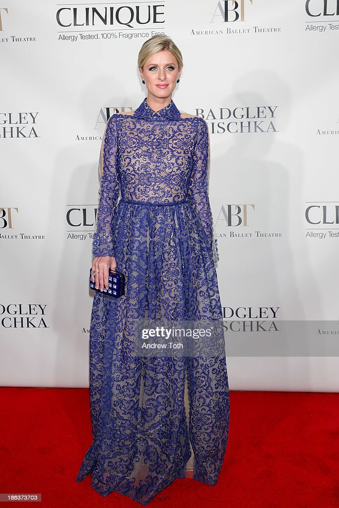 <a gi-track='captionPersonalityLinkClicked' href=/galleries/search?phrase=Nicky+Hilton+-+Born+1983&family=editorial&specificpeople=11520989 ng-click='$event.stopPropagation()'>Nicky Hilton</a> attends the American Ballet Theatre 2013 Opening Night Fall gala at David Koch Theatre at Lincoln Center on October 30, 2013 in New York City.