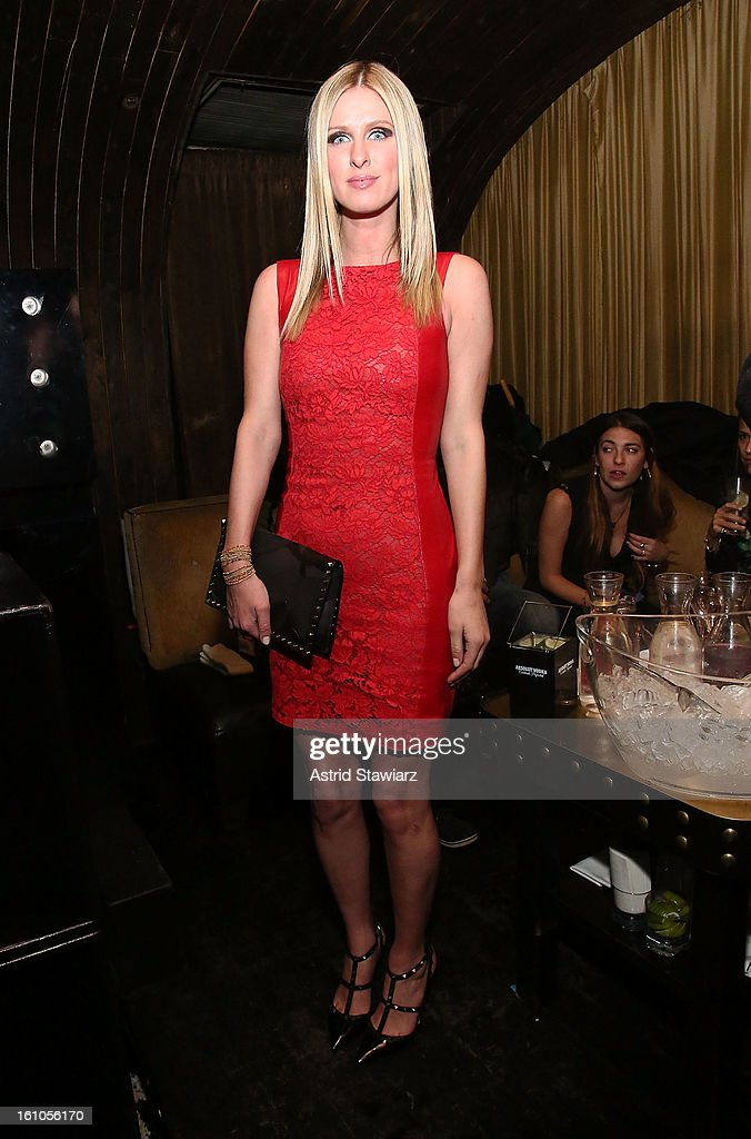 Nicky Hilton attends the Charlotte Ronson Fall/Winter 2013 - After Party at 1 Oak on February 8, 2013 in New York City.