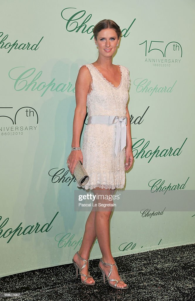 Nicky Hilton attends the Chopard 150th Anniversary Party at Palm Beach, Pointe Croisette during the 63rd Annual Cannes Film Festival on May 17, 2010 in Cannes, France.