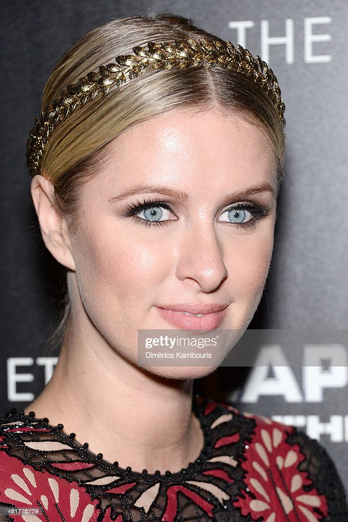 <a gi-track='captionPersonalityLinkClicked' href=/galleries/search?phrase=Nicky+Hilton+-+Born+1983&family=editorial&specificpeople=11520989 ng-click='$event.stopPropagation()'>Nicky Hilton</a> attends The Cinema Society & Gucci Guilty screening of Marvel's 'Captain America: The Winter Soldier' at Tribeca Grand Hotel on March 31, 2014 in New York City.