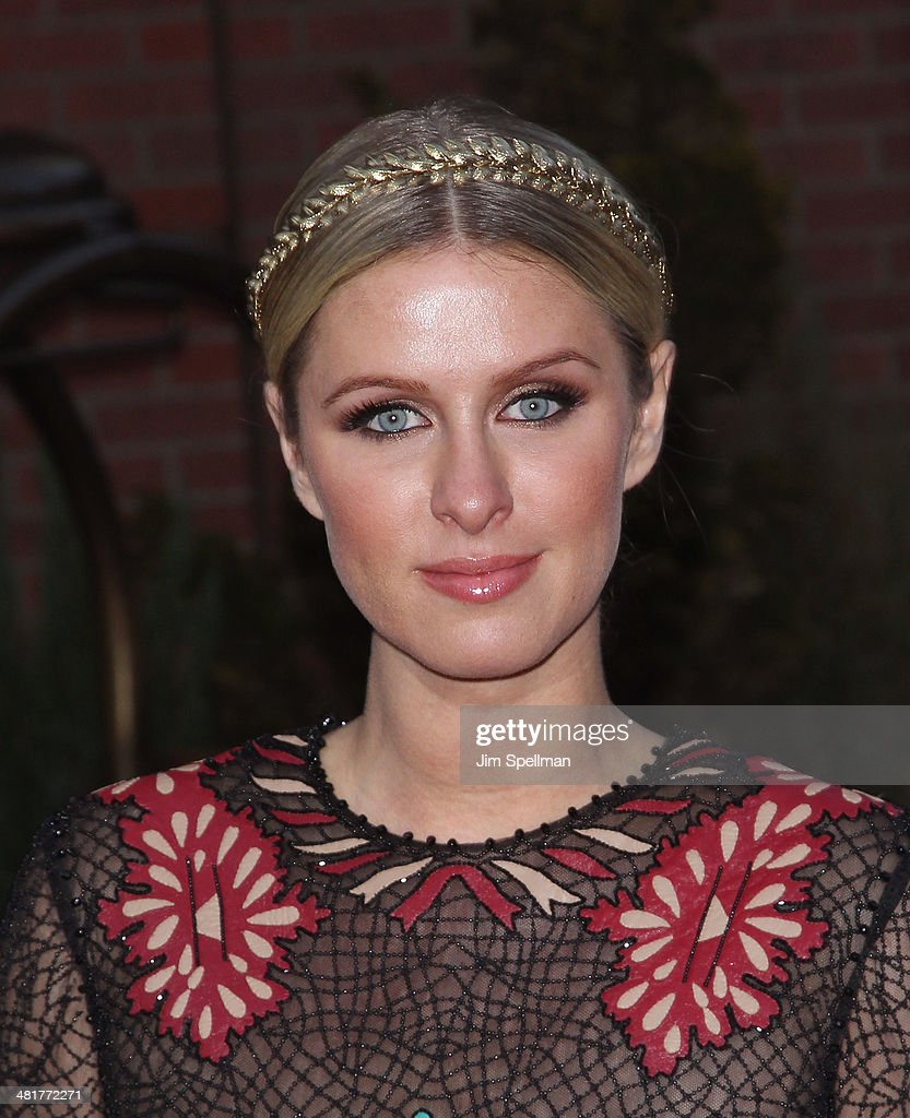 Nicky Hilton attends The Cinema Society Screening of 'Captain America: The Winter Soldier' Screening at Tribeca Grand Hotel on March 31, 2014 in New York City.