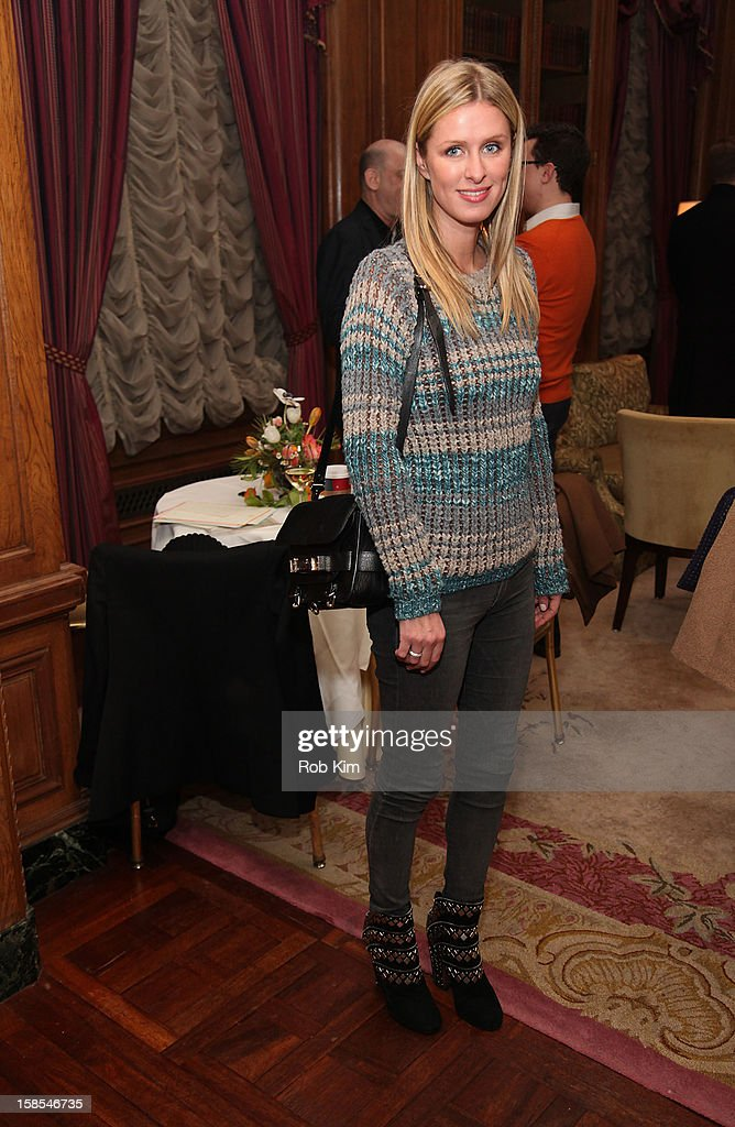 Nicky Hilton attends the Derek Blasberg for Opening Ceremony Stationery launch party at the Saint Regis Hotel on December 18, 2012 in New York City.