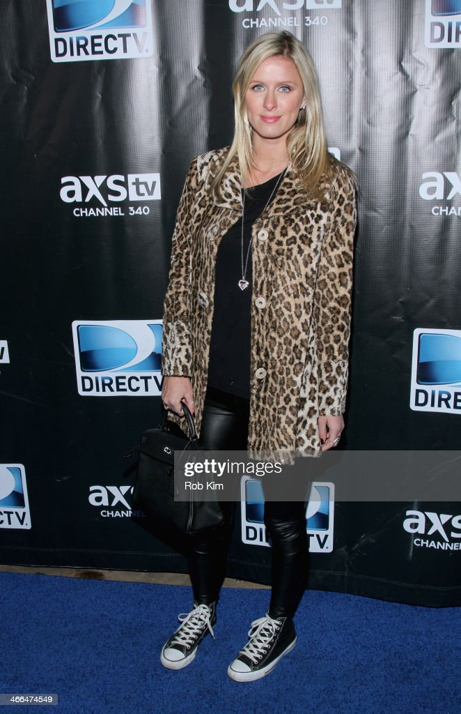 Nicky Hilton attends the DirecTV Super Saturday Night at Pier 40 on February 1, 2014 in New York City.