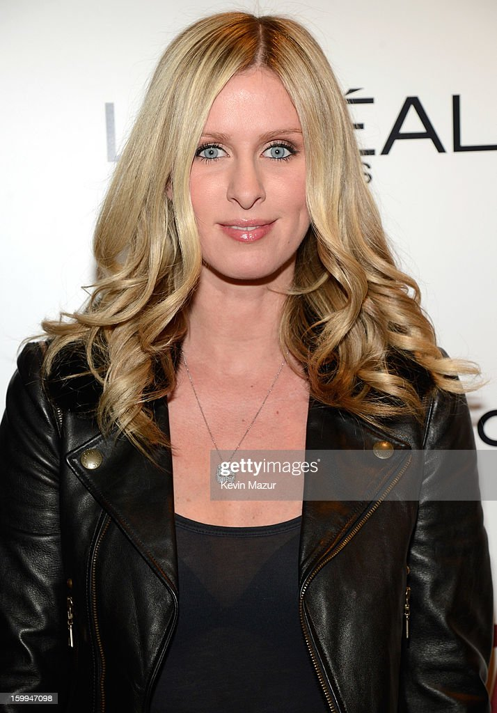 Nicky Hilton attends the FilmDistrict with The Cinema Society, L'Oreal Paris & Appleton Estate screening of 'Parker' at the Museum of Modern Art on January 23, 2013 in New York City.
