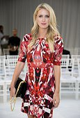 Nicky Hilton attends the Gabriela Cadena fashion show during Spring 2016 New York Fashion Week The Shows at The New York Public Library on September...