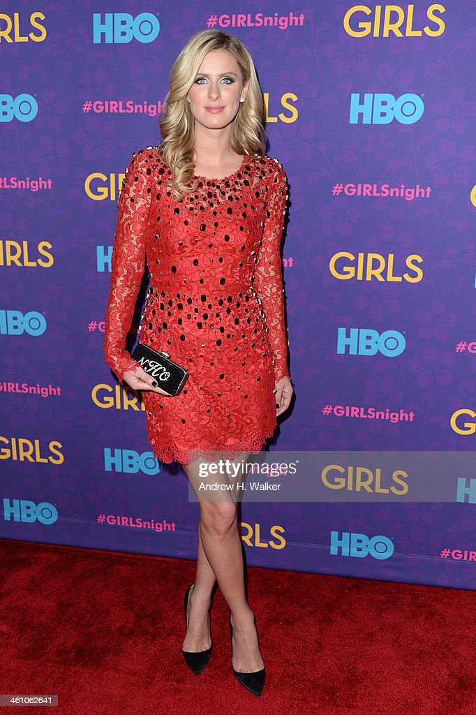 <a gi-track='captionPersonalityLinkClicked' href=/galleries/search?phrase=Nicky+Hilton+-+Born+1983&family=editorial&specificpeople=11520989 ng-click='$event.stopPropagation()'>Nicky Hilton</a> attends the 'Girls' season three premiere at Jazz at Lincoln Center on January 6, 2014 in New York City.