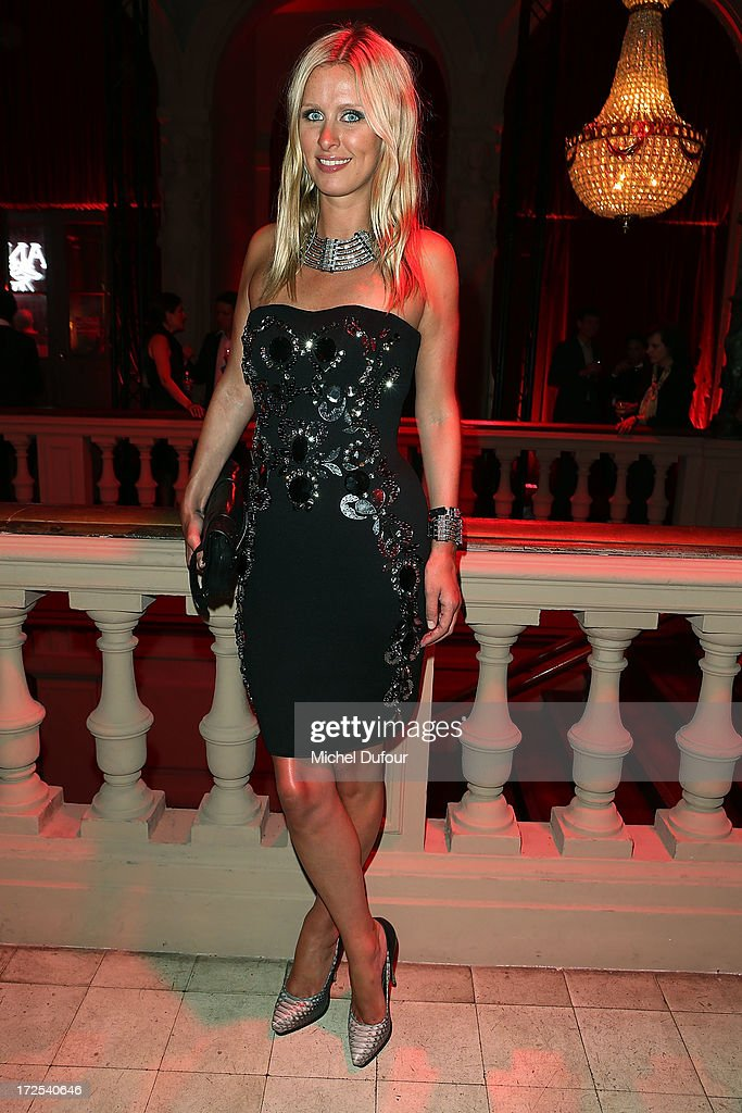 <a gi-track='captionPersonalityLinkClicked' href=/galleries/search?phrase=Nicky+Hilton+-+Born+1983&family=editorial&specificpeople=11520989 ng-click='$event.stopPropagation()'>Nicky Hilton</a> attends the 'Lancome Show by Alber Elbaz' at Le Trianon on July 2, 2013 in Paris, France.