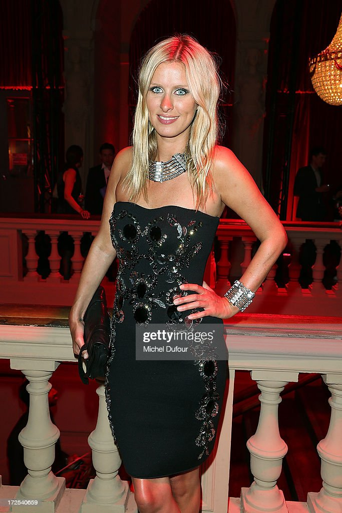 <a gi-track='captionPersonalityLinkClicked' href=/galleries/search?phrase=Nicky+Hilton+-+Classe+1983&family=editorial&specificpeople=11520989 ng-click='$event.stopPropagation()'>Nicky Hilton</a> attends the 'Lancome Show by Alber Elbaz' at Le Trianon on July 2, 2013 in Paris, France.