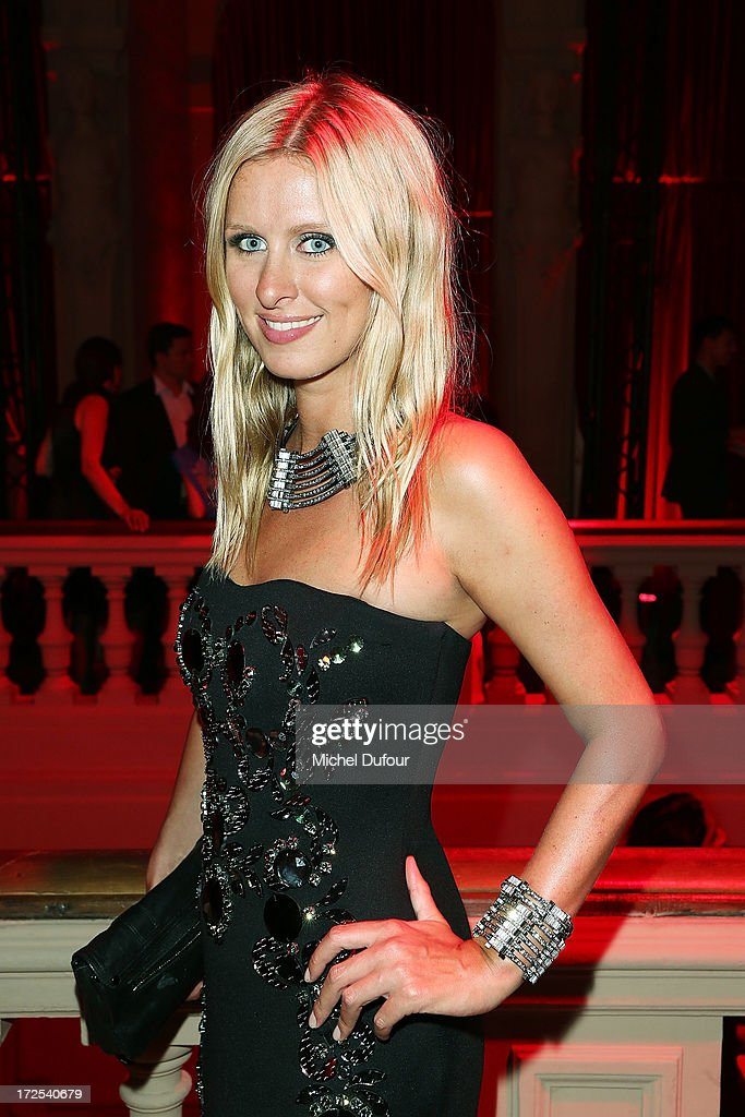 Nicky Hilton attends the 'Lancome Show by Alber Elbaz' at Le Trianon on July 2, 2013 in Paris, France.