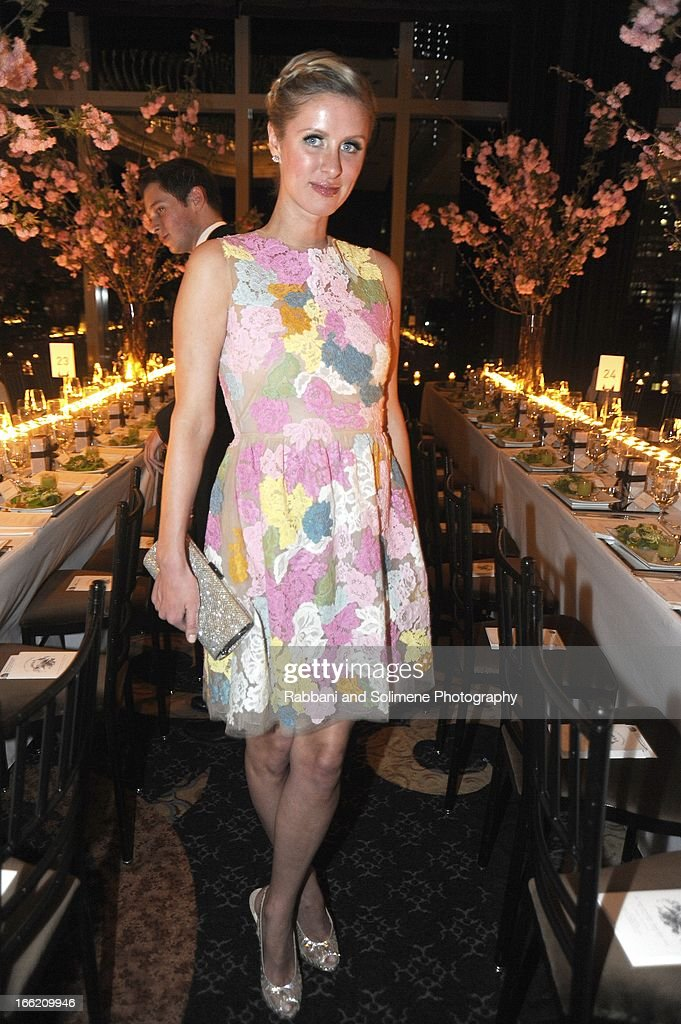 Nicky Hilton attends the New Yorker's For Children's 10th Anniversary A Fool's Fete Spring Dance at Mandarin Oriental Hotel on April 9, 2013 in New York City.