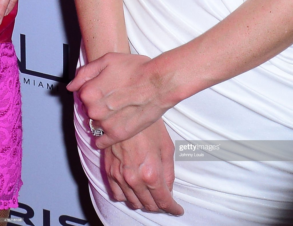 Nicky Hilton ( ring detail ) attends the Paris Hilton Debuts New Single and Nicky Ultimate Bachelorette Party at Wall at W Hotel on June 6, 2015 in Miami Beach, Florida.