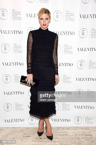 Nicky Hilton attends the Society of Memorial Sloan Kettering's fall party at Four Seasons Restaurant on November 11 2015 in New York City