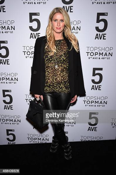Nicky Hilton attends the Topshop Topman New York City flagship opening dinner at Grand Central Terminal on November 4 2014 in New York City