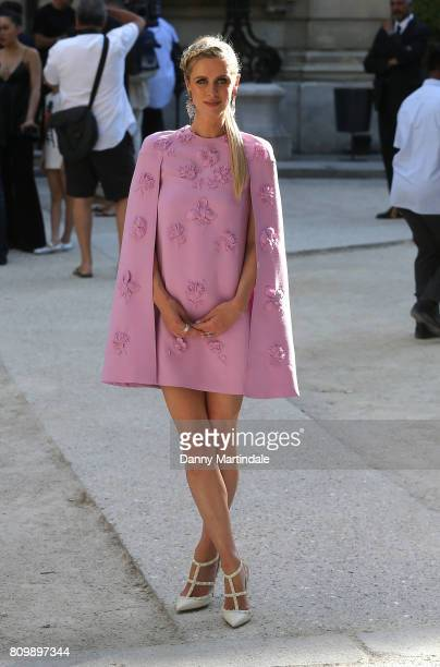 Nicky Hilton attends the Valentino Haute Couture Fall/Winter 20172018 show as part of Paris Fashion Week on July 5 2017 in Paris France