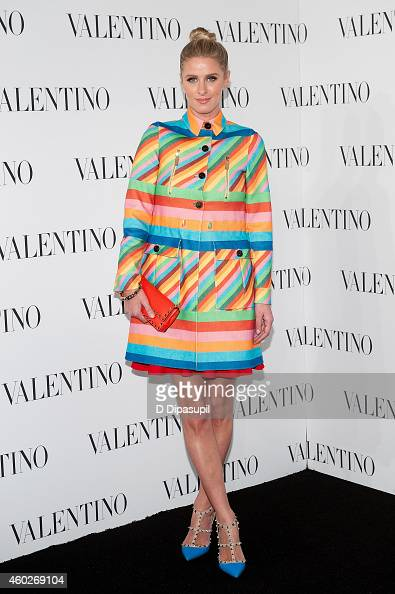 Nicky Hilton attends the Valentino Sala Bianca 945 Event on December 10 2014 in New York City