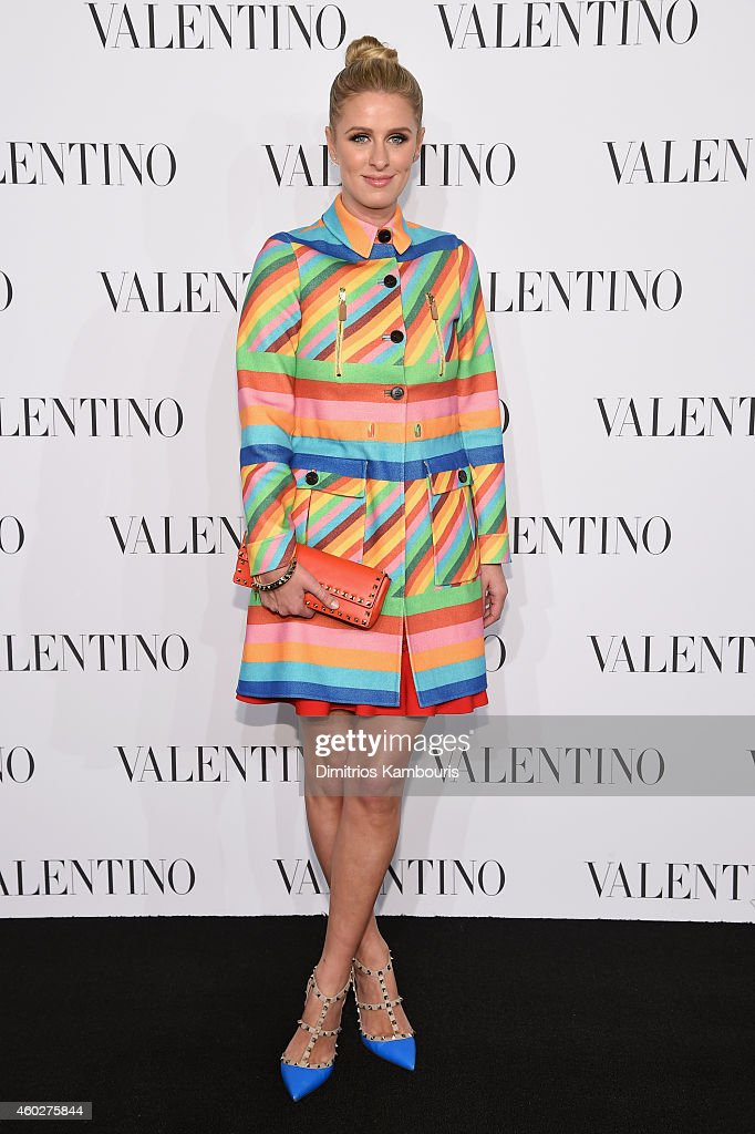 Nicky Hilton attends the Valentino Sala Bianca 945 Event on December 10, 2014 in New York City.