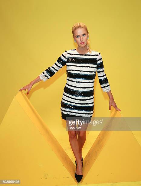 Nicky Hilton attends the W Magazine and Hugo Boss Celebrate 'The Shot' event at the International Center of Photography Museum on September 12 2016...