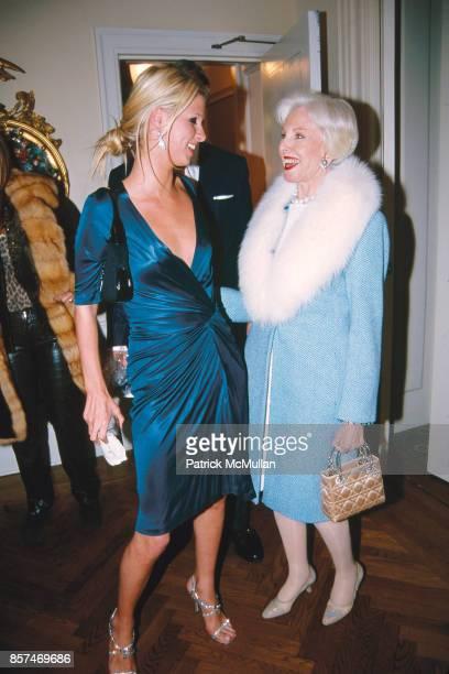 Nicky Hilton Carroll Petrie Hilton Holiday Party WaldorfAstoria NYC December 11 2001