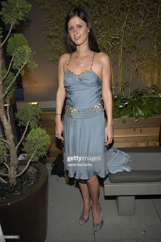 Nicky Hilton during GQ Magazine Hosts Cocktail Party Honoring The 2005 CFDA Awards Menswear Nominees at The Garden of Ono at The Gansevoort Hotel in...