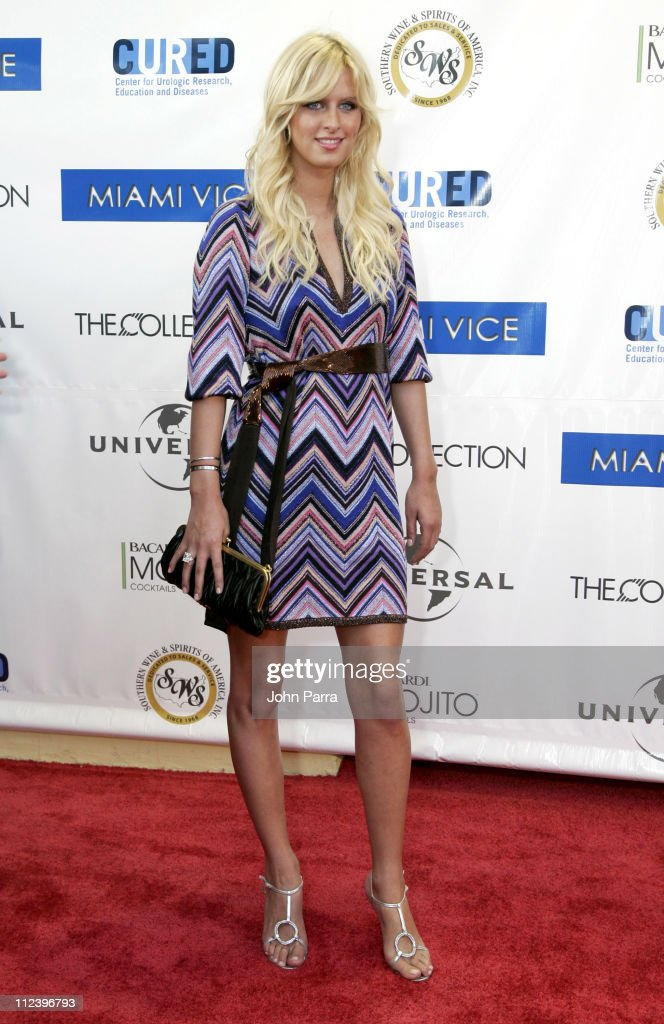 Nicky Hilton during 'Miami Vice' Miami Premiere - Arrivals at Lincoln Theatre in South Beach, Florida, United States.