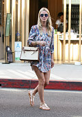 Nicky Hilton is seen in Beverly Hills on April 14 2015 in Los Angeles California