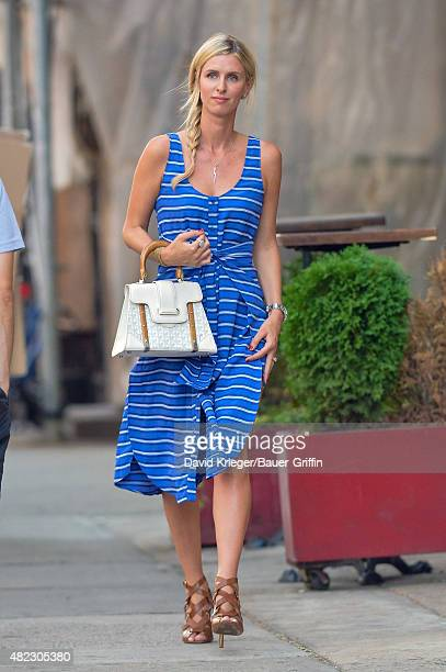 Nicky Hilton is seen in New York City on July 29 2015 in New York City