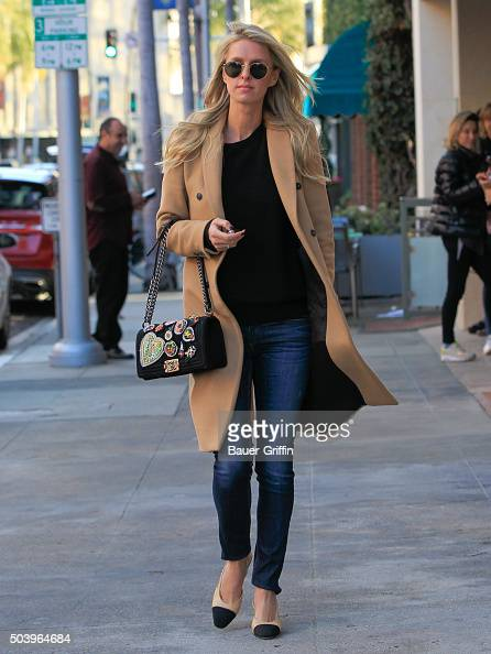 Nicky Hilton is seen on January 07 2016 in Los Angeles California