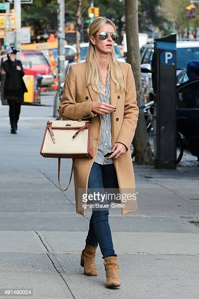 Nicky Hilton is seen on October 05 2015 in New York City