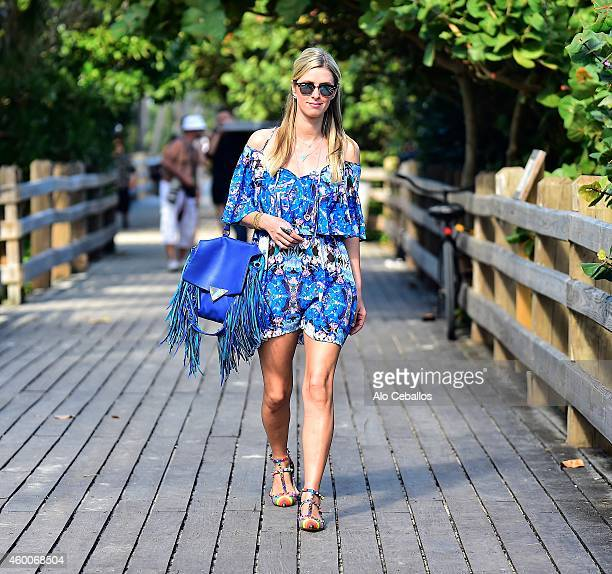 Nicky Hilton is sighted on December 6 2014 in Miami Florida