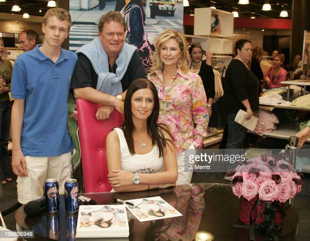 Nicky Hilton Kathy Hilton and Rick Hilton during Chick By Nicky Hilton to be Unveiled at Nordstroms South Coast Plaza in the Last Stop of her US Tour...