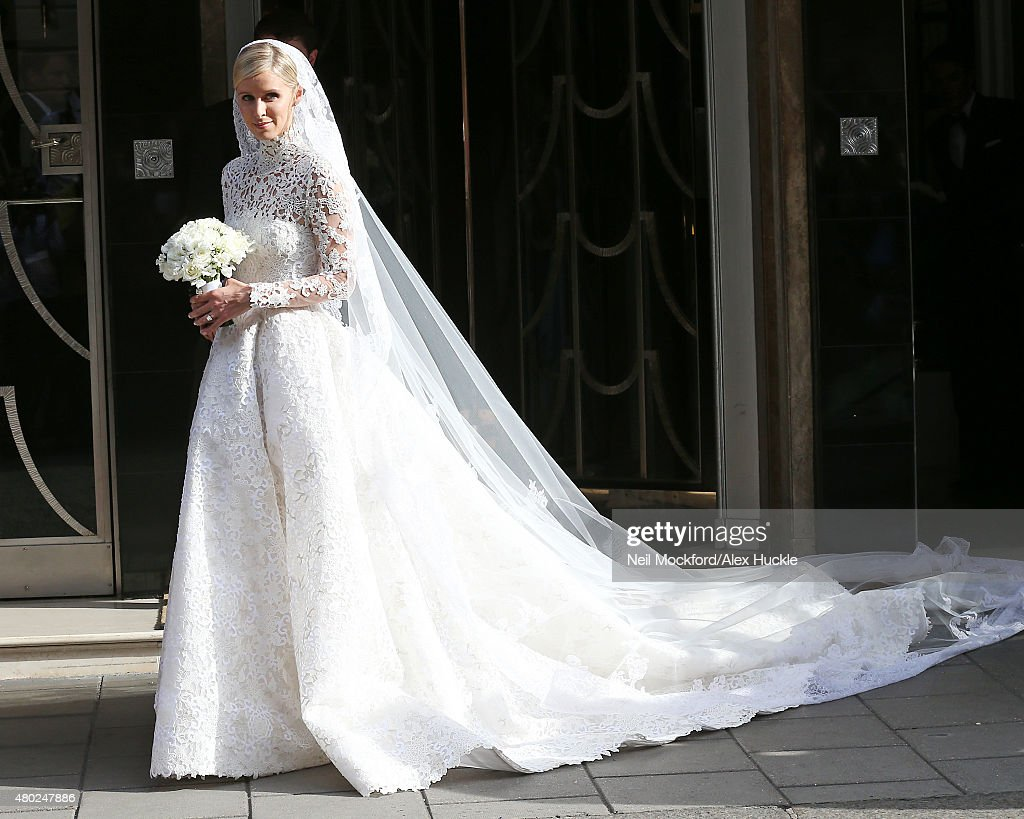 Nicky Hilton leaves Claridges ahead of her wedding on July 10 2015 in London England
