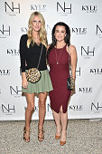 Nicky Hilton Rothschild and Kyle Richards attend NICKY HILTON x linea pelle Launch Celebration at Kyle by Alene Too on October 22 2015 in Beverly...