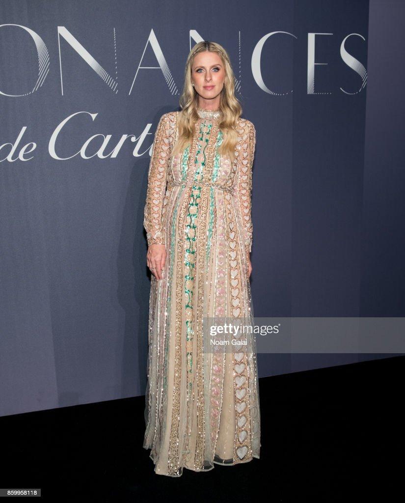 Nicky Hilton Rothschild attends Cartier's celebration of Resonances de Cartier on October 10, 2017 in New York City.