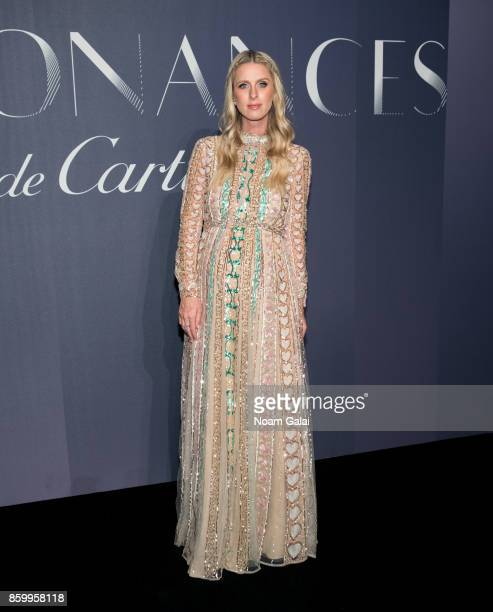 Nicky Hilton Rothschild attends Cartier's celebration of Resonances de Cartier on October 10 2017 in New York City