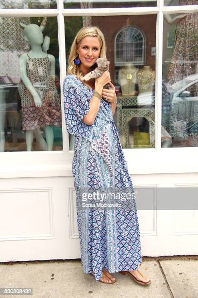 Nicky Hilton Rothschild attends the Roller Rabbit Charity Shopping Event to benefit Animal Haven on August 12 2017 in East Hampton New York
