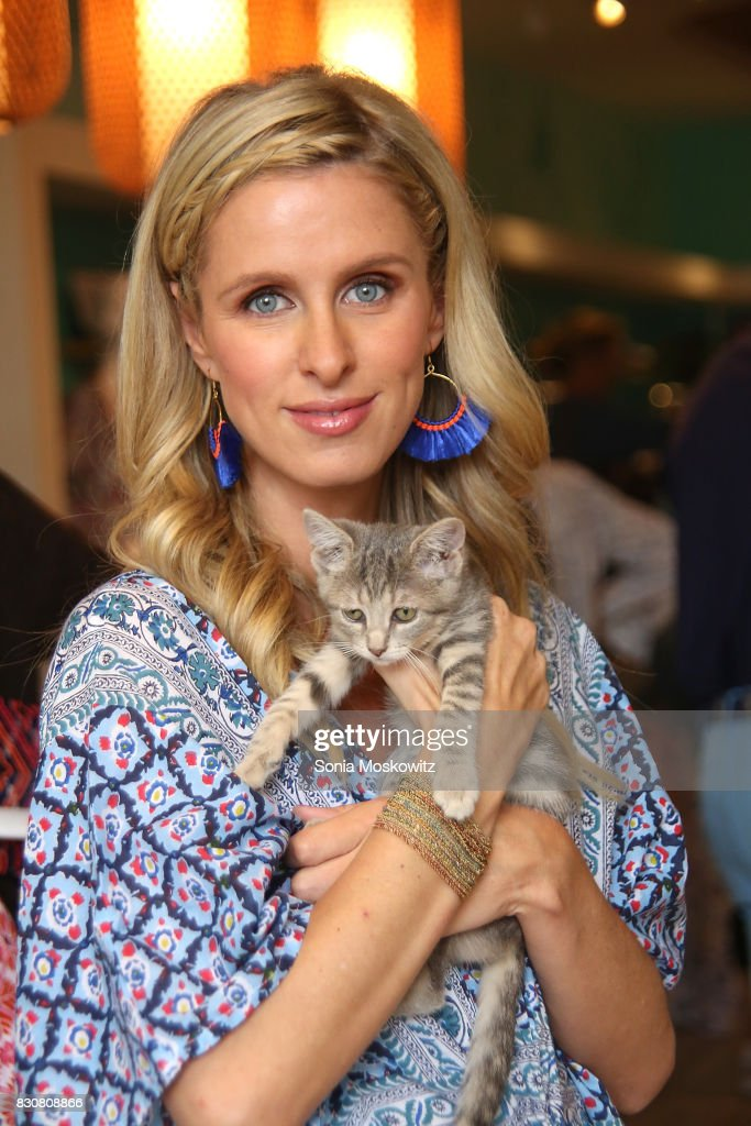 Nicky Hilton Rothschild attends the Roller Rabbit Charity Shopping Event to benefit Animal Haven on August 12, 2017 in East Hampton, New York.