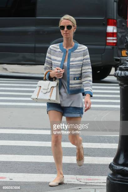 Nicky Hilton Rothschild is seen on June 21 2017 in New York City
