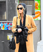 Celebrity Sightings in New York City - January 23, 2018