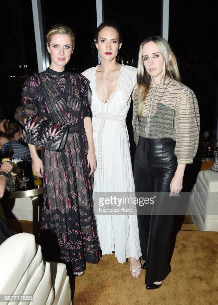 Nicky Hilton Rothschild Zani Gugelmann and Hope Atherton attends the Valentino Resort 2018 Runway Show After Party on May 23 2017 in New York City